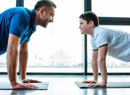 The 5-minute daily workout with your kids