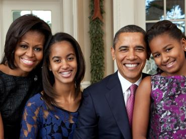 Barack Obama: Father-In-Chief