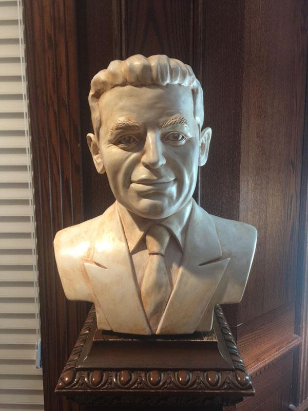 Aldo Cundari Sculpture Of Father