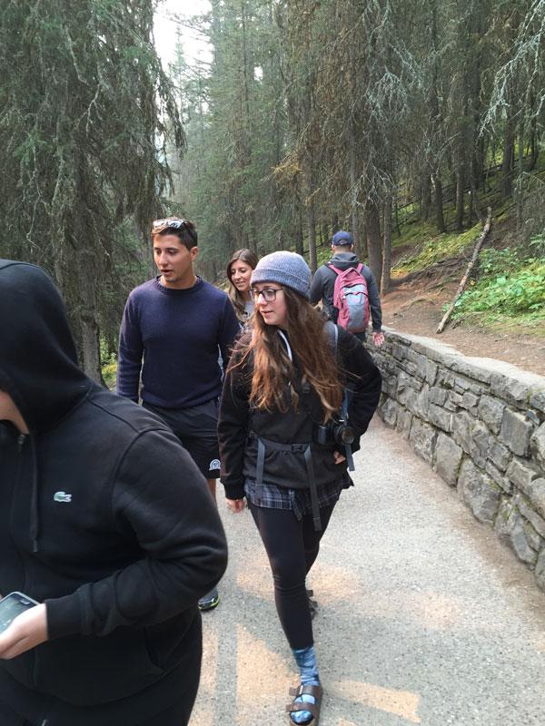 Aldo Cundari Family Hiking Trails In Banf Alberta Canada
