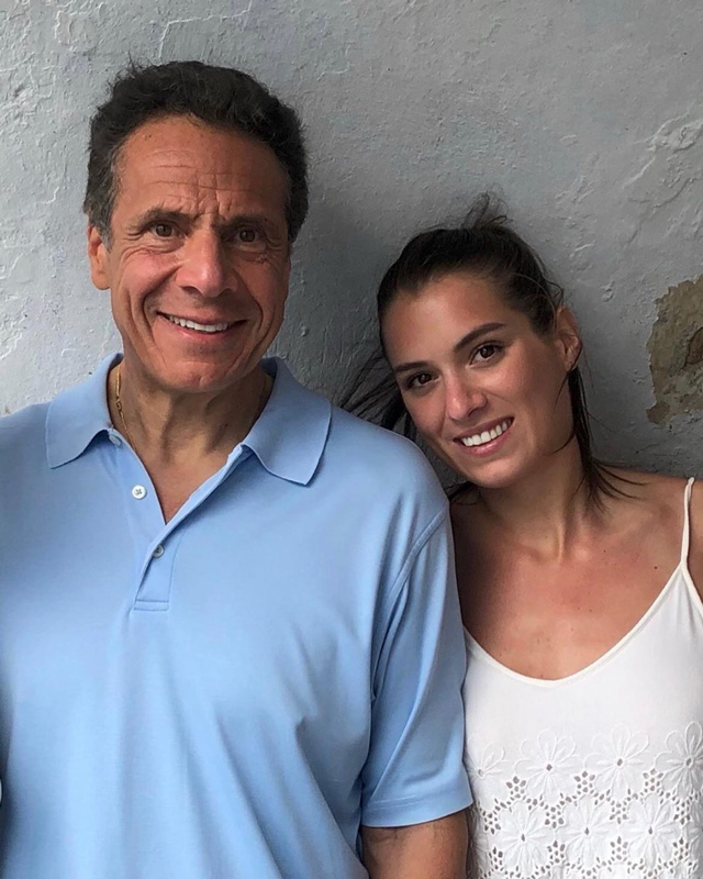 Andrew Cuomo With Daughter