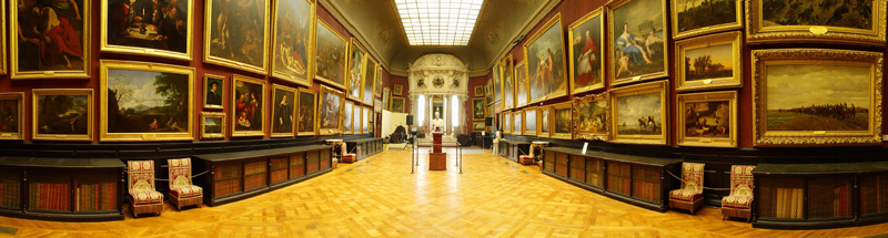 Interior Of Condé Museum France
