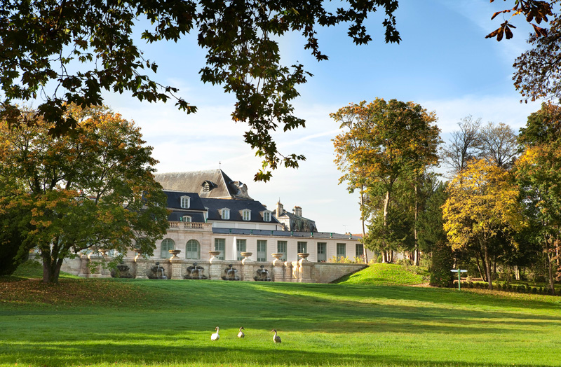 Auberge Du Jeu De Paume, Chantilly, Relais & Châteaux View From Garden