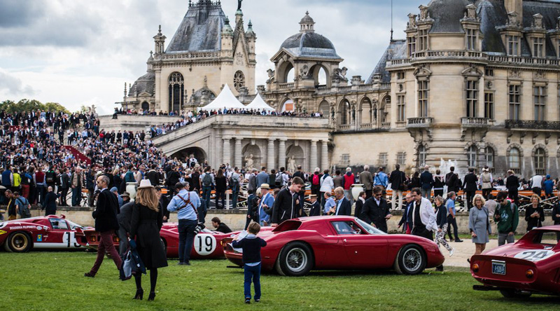 The Richard Mille Art and Elegance Prize Car Exhibition Show