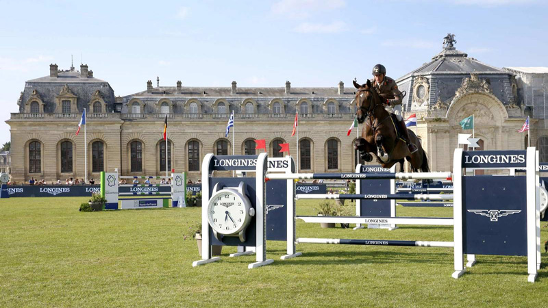 The Global Jumping Tour Of Chantilly Horse Competition Chantilly France