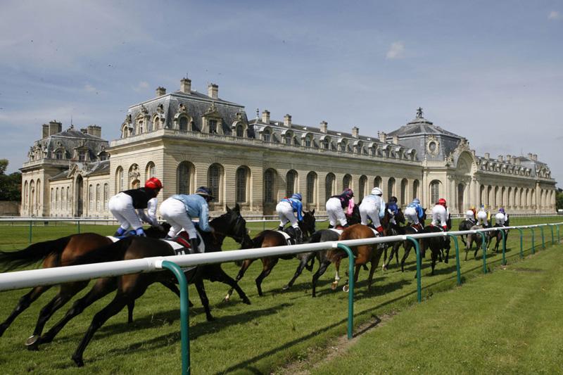 The Prix Diane De Longines Horse Race Chantilly France