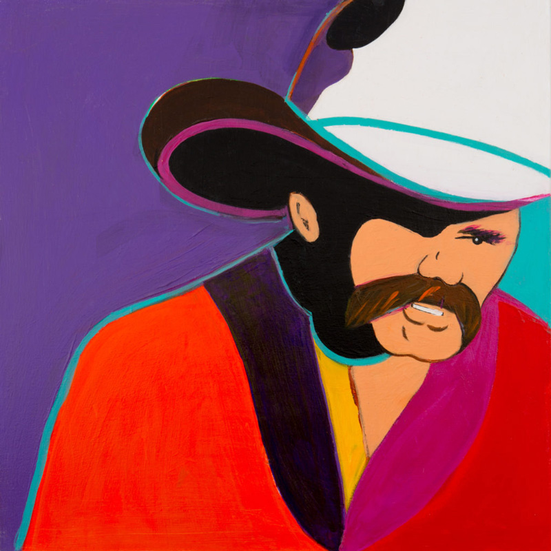 Painting Of Cowboy By Frank Palmer Titled Cowboy