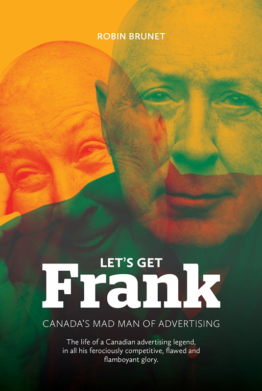 Book Cover Of Let's Get Frank By Robin Brunet