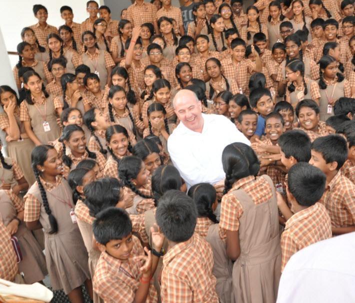 Jeff Hoffman Helping Children In India