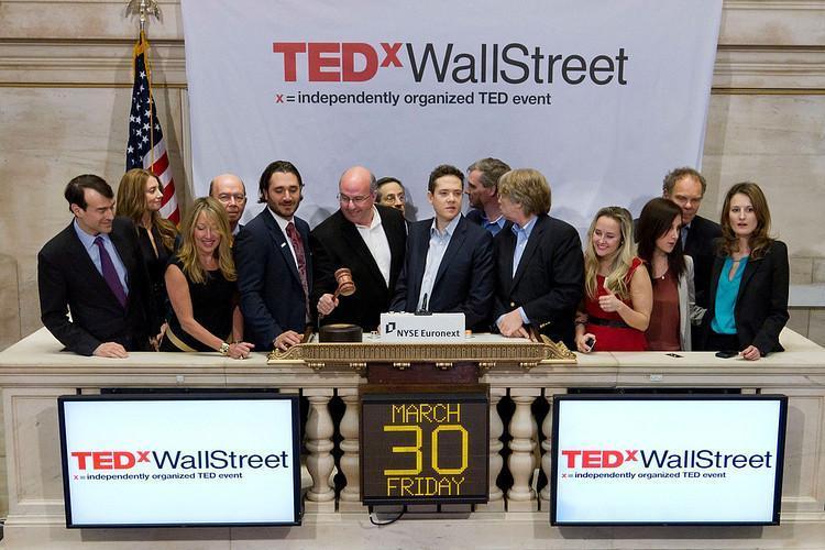 Jeff Hoffman At New York Stock Exchange