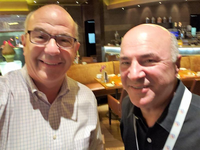 Jeff Hoffman And Kevin O'leary