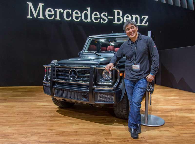Guy Kawasaki Standing In Front Of Mercedes-Benz G-Class