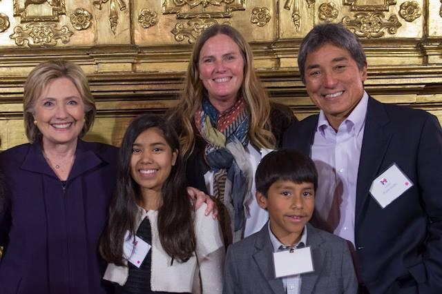Guy Kawasaki With Hillary Clinton And His Family