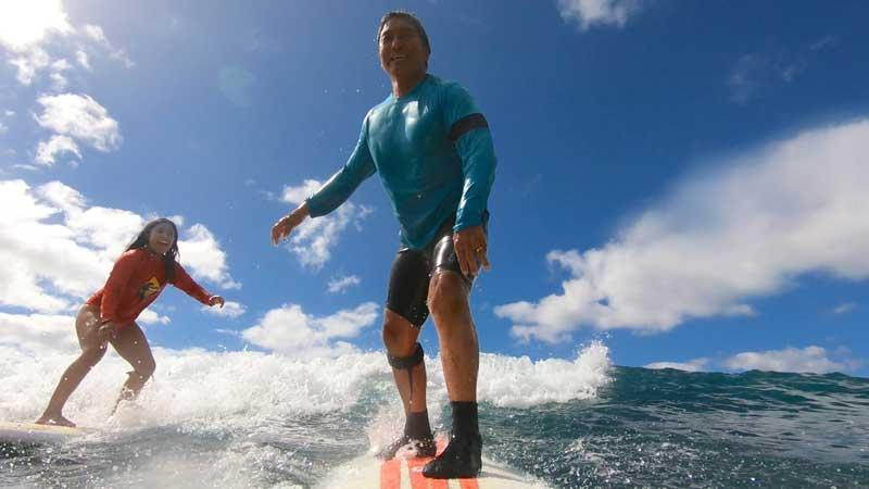 Guy Kawasaki Surfing With Daughter