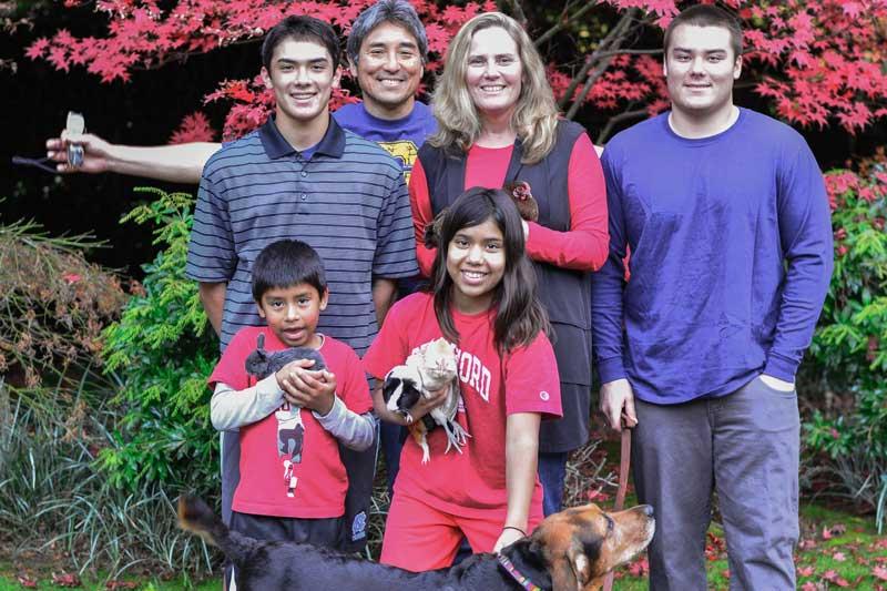Family Photo Of Guy Kawasaki And His Family
