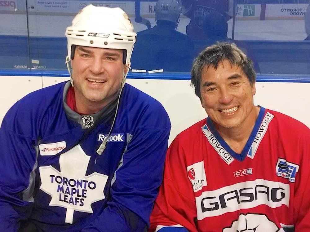 Guy Kawasaki With Hockey Star Eric Lindros