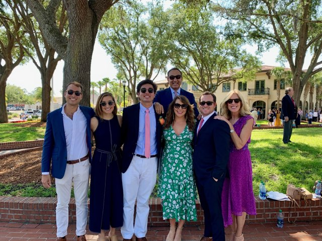 Oscar Munoz Family Photo All Dress Formal And Smiling