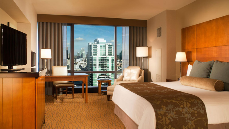 The Omni Hotel Sand Diego Room