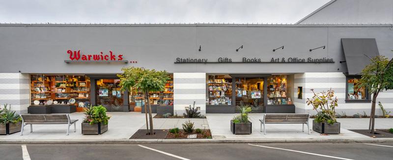 Street View Of Warwick's Book Store
