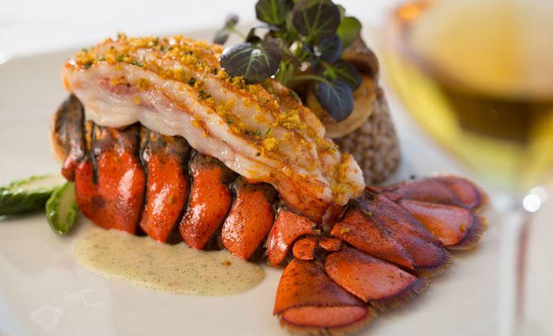 Marine Room Restaurant Lobster Dish On Plate